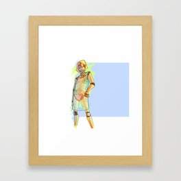 Elga - Robochique Framed Art Print