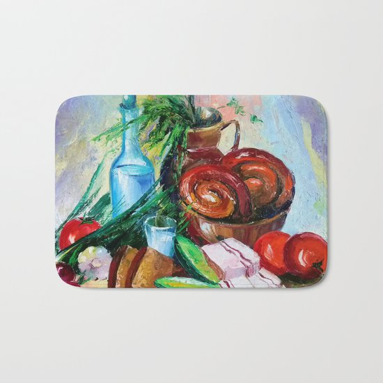 National still life Bath Mat