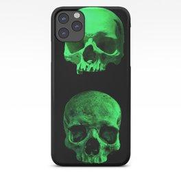 Skull quartet green iPhone Case