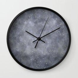 Greyness Wall Clock
