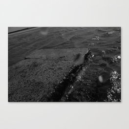 Once more into the deep (The Whaler) Canvas Print