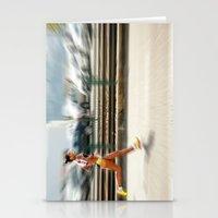 sport Stationery Cards featuring Sport by Sébastien BOUVIER