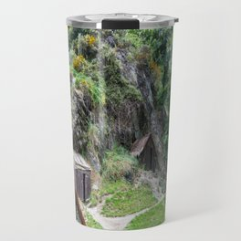 Arrowtown Chinese Settlement, New Zealand Travel Mug