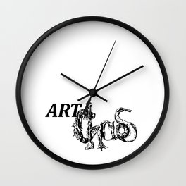 ArtChaos Wall Clock