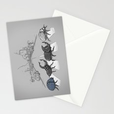 The Beetles Stationery Cards