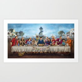 The Arrested Supper Art Print