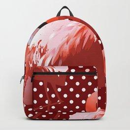 Watercolor Flamingo Pattern 7 Backpack