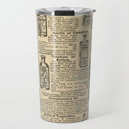 Vintage Catalogue Travel Mug