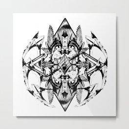 Hybrid Splice Metal Print