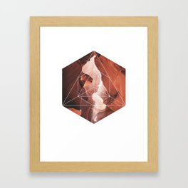 A Great Canyon - Geometric Photography Framed Art Print