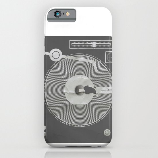 afro deck iPhone & iPod Case