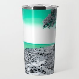Teal Hawaii Travel Mug
