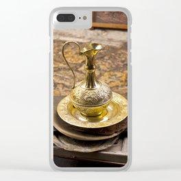 Brass Jug Clear iPhone Case