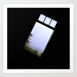 From the Window Art Print