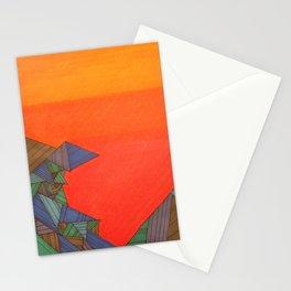 bright sky Stationery Cards
