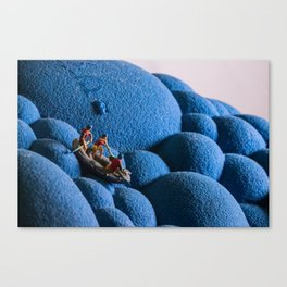 V5 Rafting Canvas Print