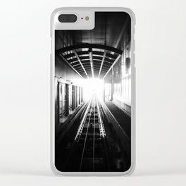 """oh god, my chance has come at last"" Clear iPhone Case"