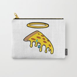 Holy Pizza Grail Crying for Our Sins Carry-All Pouch