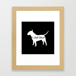 Bull Terrier Framed Art Print