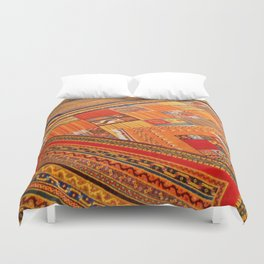 Turkish rugs in Kusadasi Duvet Cover