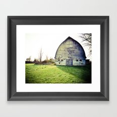 Ramshackle Relic Framed Art Print