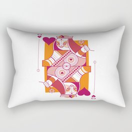 Delirium Queen of Hearts Rectangular Pillow