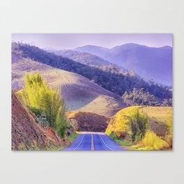 Right turn Canvas Print