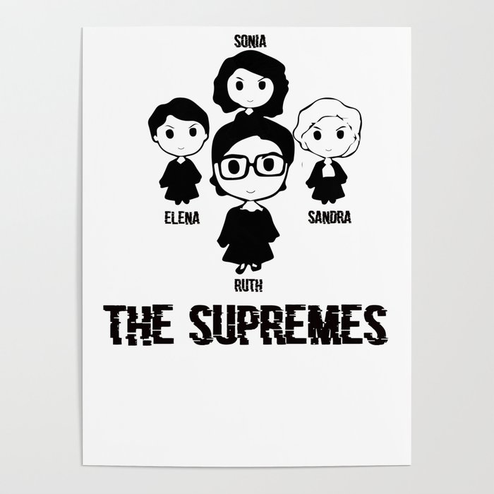 980dc25d The US Supremes Court RBG Feminist Shirt for Women Men T-Shirt Poster