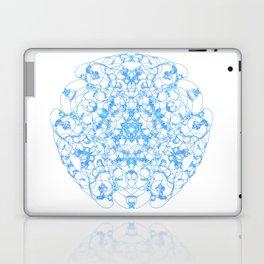 Mandala Trinity blue Laptop & iPad Skin
