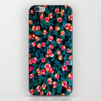 tulips iPhone & iPod Skins featuring Tulips by Madison Webb