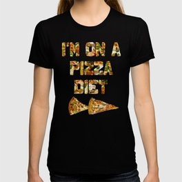 I'm on a Pizza Diet T-shirt