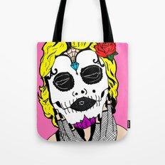 Dia De Los Marilyn En COLOR! Tote Bag