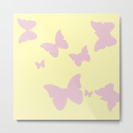 Lil Pink Butterfly Metal Print