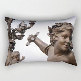 Killing Me Softly Rectangular Pillow