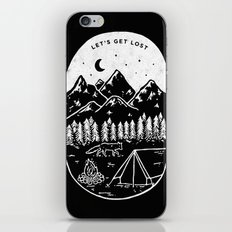 Let's Get Lost III iPhone & iPod Skin