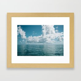 Hawaiian Ocean View Framed Art Print