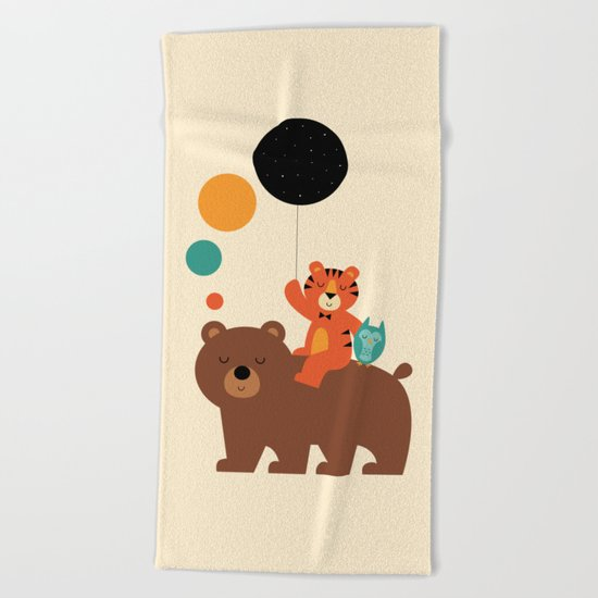 My Little Explorer Beach Towel