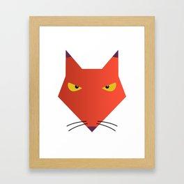 Katz -  Courage the Cowardly Dog Framed Art Print