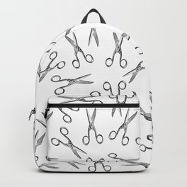 Scissors pattern Backpack