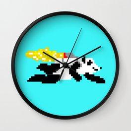 jetpack panda. Wall Clock