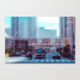 Tokyo 2020 Canvas Print