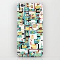 mod iPhone & iPod Skins featuring Mod by Tina Carroll