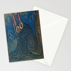 Wave Kitty Stationery Cards