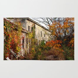 Somewhere in Rhode Island - Abandoned Mill 001  Rug