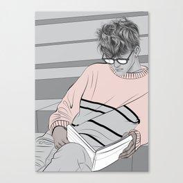 Reading Canvas Print