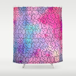 cats new colour 624 Shower Curtain