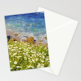 California Seaside in Bloom by Reay of Light Stationery Cards