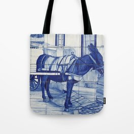 Portuguese glazed tiles Tote Bag