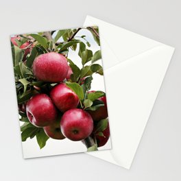 Red Apple Tree Stationery Cards