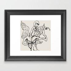 I'm a little butterfly Framed Art Print